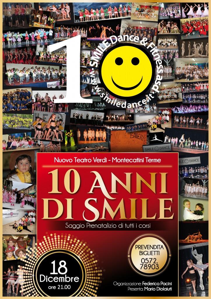 saggio natale 10 ANNI SMILE