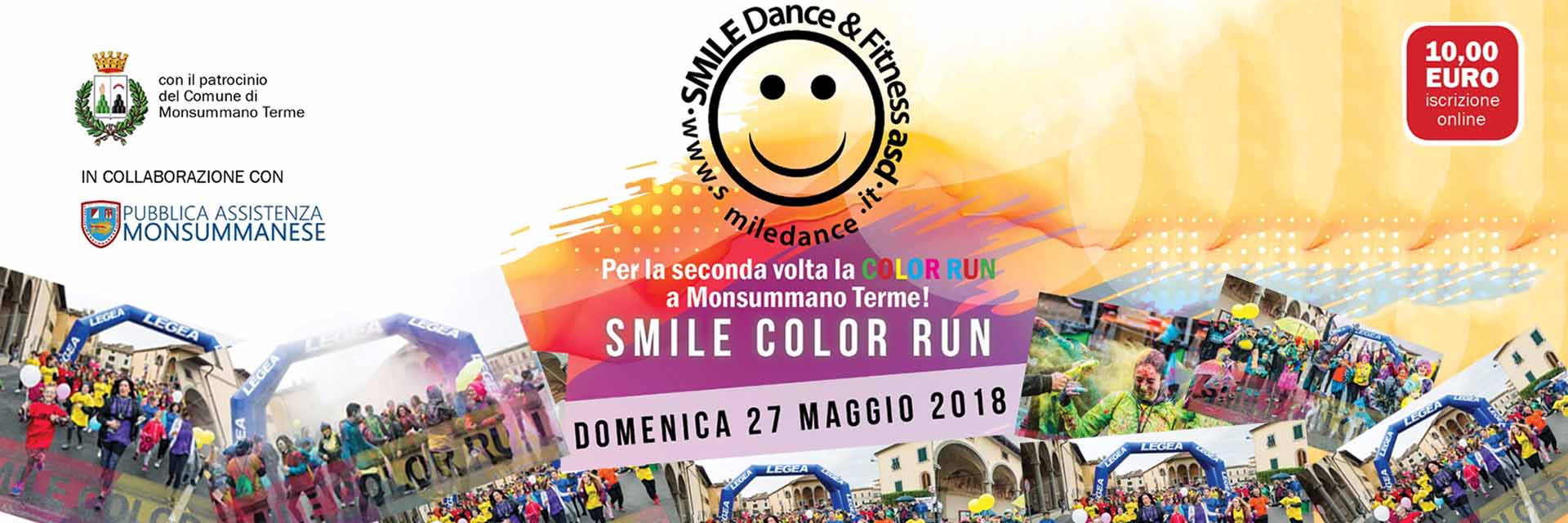 smile color run 27 maggio 2018
