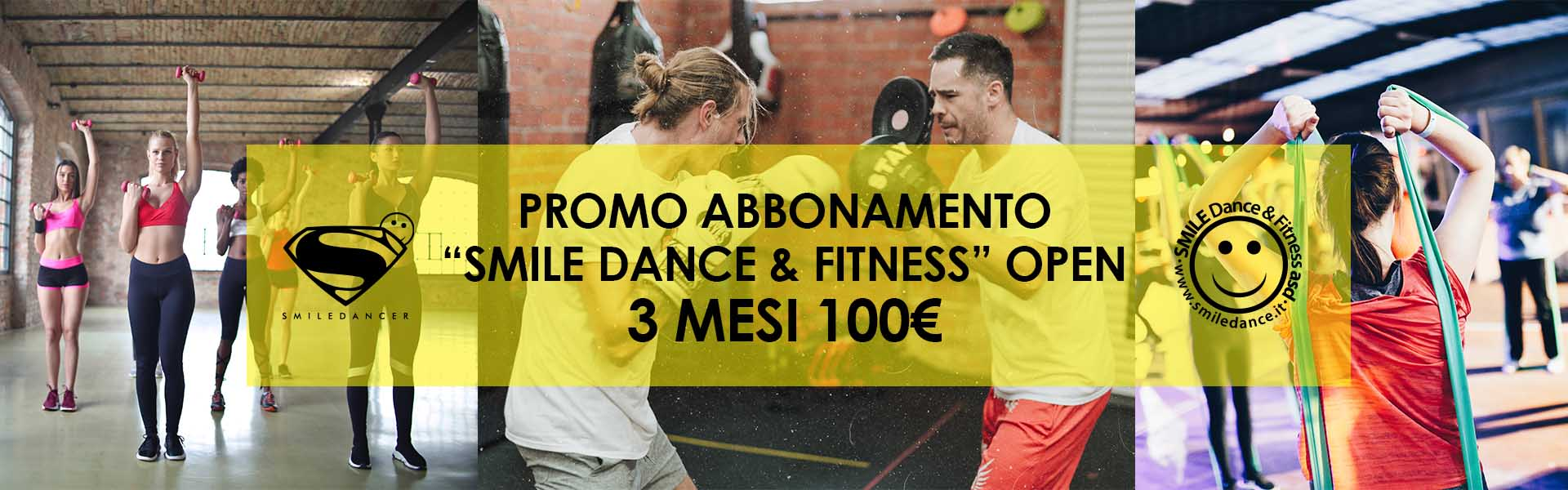 smiledance & fitness promo 3 mesi